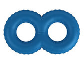 Double swimming ring — Stock Photo