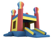 Inflatable castle — Stock Photo