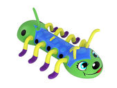 Inflatable centipede toy — Stock Photo