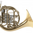 Stock Photo: French horn