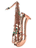 Tenor saxophone — Stock Photo
