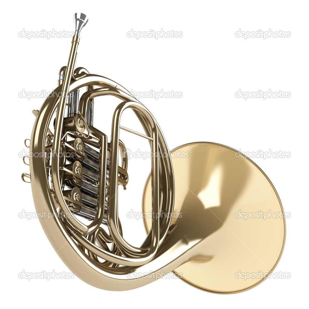 French horn — Stock Photo © Nmorozova #5706144