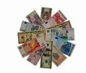 """""""Flower"""" of money — Zdjęcie stockowe"""