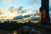 Miasto moskwa — Zdjęcie stockowe