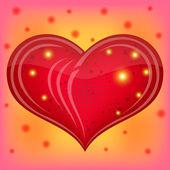 Valentijn hart — Stockvector