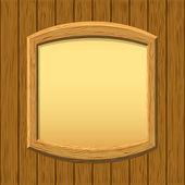Wooden framework on a wall — ストック写真