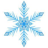Copo de nieve que 1 — Vector de stock