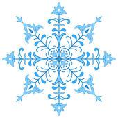 Snowflake figured 1 — Stock Vector