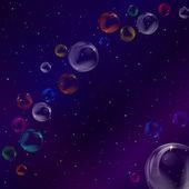 Sfondo, bolle — Vettoriale Stock
