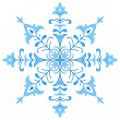 Stock Photo: Snowflake figured 1