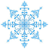 Snowflake figured 1 — Stock Photo