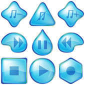Playback buttons — Stock Photo