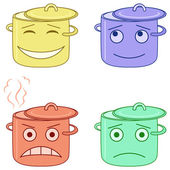 Pans smilies — Stock Photo