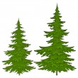 Royalty-Free Stock Obraz wektorowy: Fur-trees
