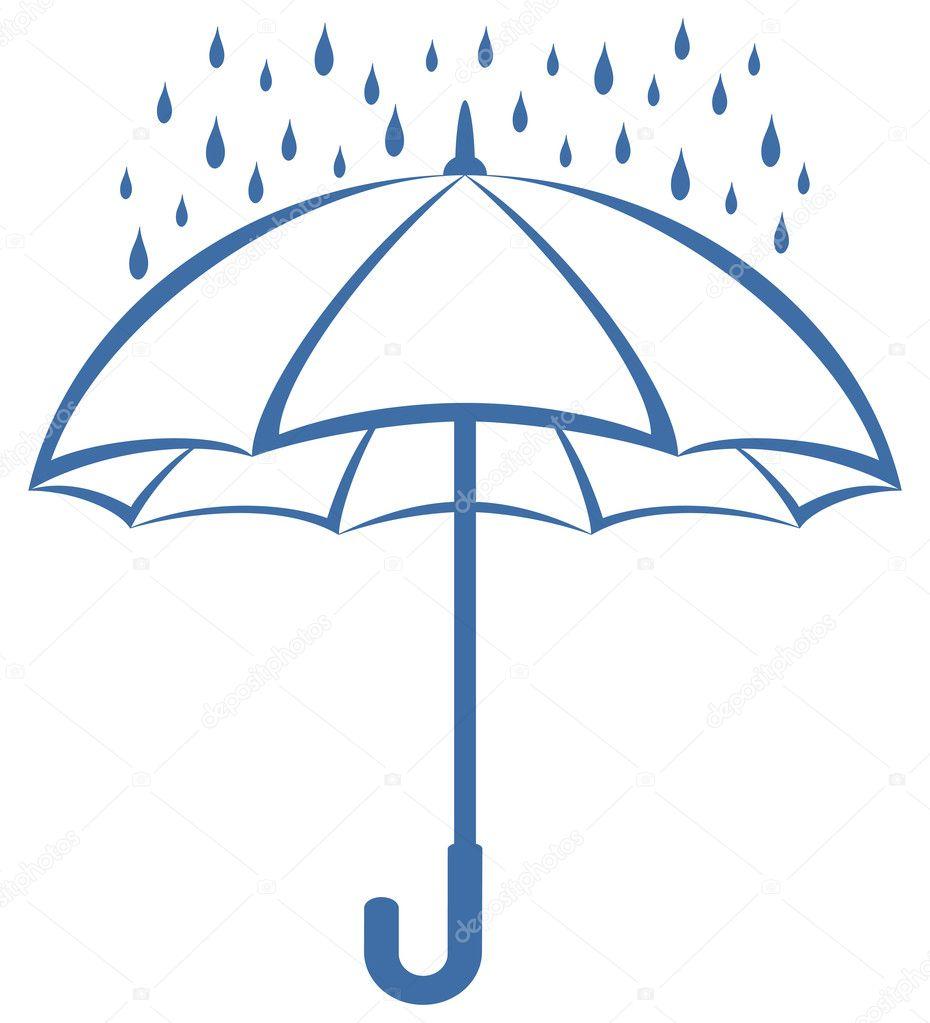 Free Clip Art Umbrella Rain