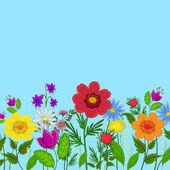 Fleurs et le ciel — Photo