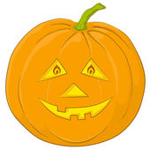 Pumpkin Jack O Lantern — Stock Photo