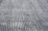 Gray metal roof — Stock Photo