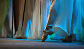 Modern russian ballet fragment — Stock Photo