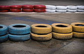 On the carting track — Stock Photo