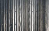 Shining metal wall — Stock Photo