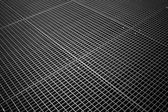 Tiled metal grid texture — Stock Photo