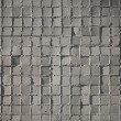 Gray mosaic tiles — Stock Photo