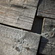 Royalty-Free Stock Photo: Fragment of an old wooden construction