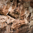 Cave wall background texture - Stock Photo
