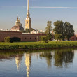 Peter and Paul Cathedral. St. Petersburg, Russia — Stock Photo #6650839