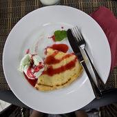Pan cake — Stock Photo