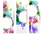 Header bubbles — Stock Vector