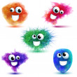 Royalty-Free Stock Vector Image: Monsters