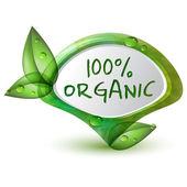 Organic — Vector de stock