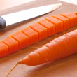 Stock Photo: Carrot transformation