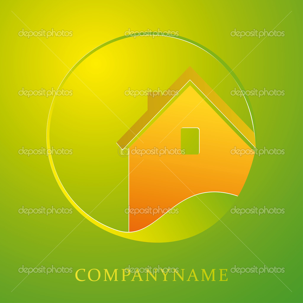 Illustration for housing business, construction, ecologicy — Stock Vector #5438613