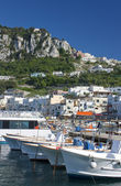 Capri - view of port — Stock Photo