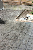 Terrace construction — Stock Photo