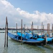 Stock Photo: Venice - Gondolas