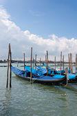 Venezia - gondole — Foto Stock