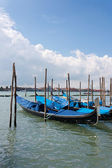Benátky - kabinové — Stock fotografie