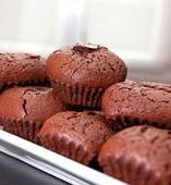 Tortas de chocolate — Foto de Stock
