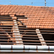 Roof restoration — Stock Photo #6484149