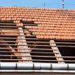 Roof restoration — Stock Photo