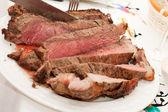 Beef rib sliced — Stock Photo