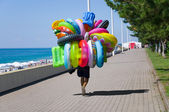 Lifebuoy seller — ストック写真
