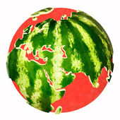 Water melon — Stock fotografie