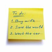 Save the world — Stock Photo