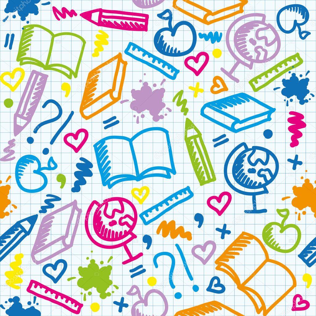 Фоны рисованные для школы