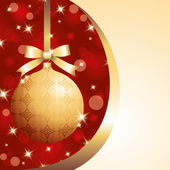 Xmas ball — Vector de stock